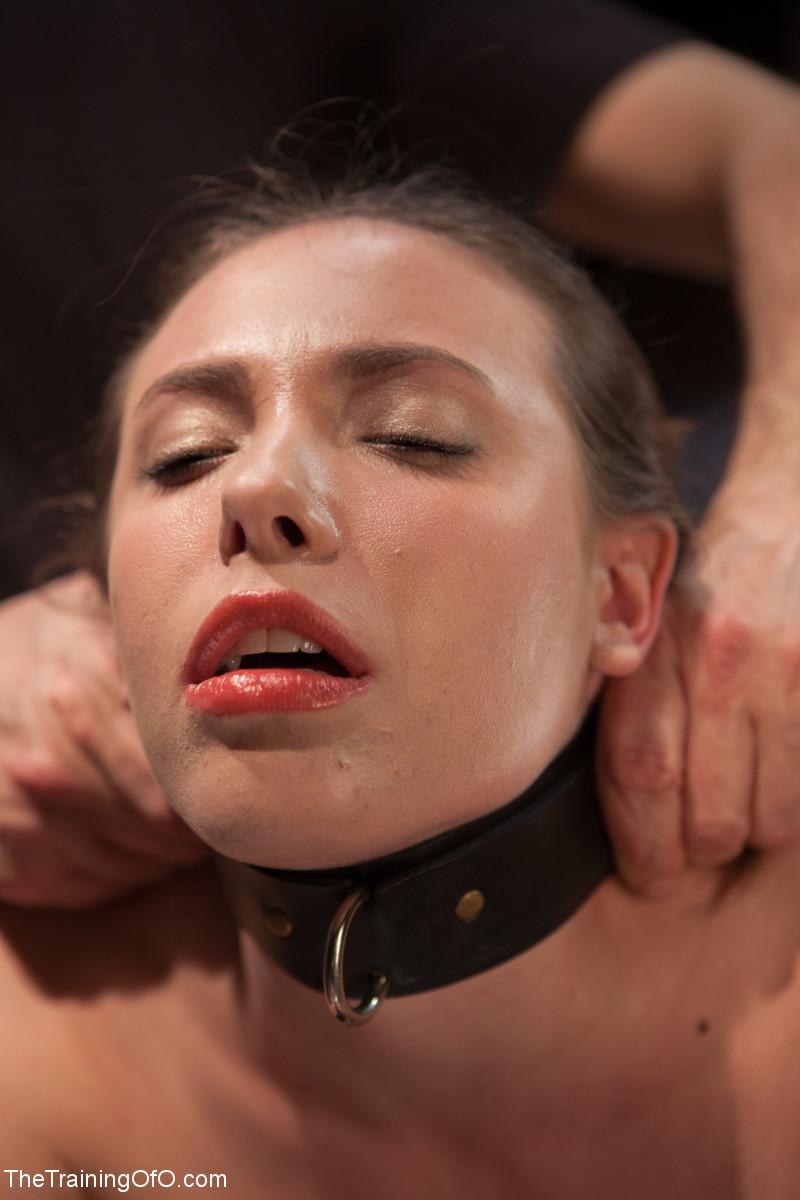 Flexible slut bound in splitsspitroasted and bbc creampied 9