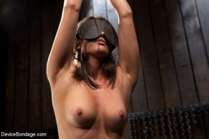 A Blindfold on a Kink set. Photo Courtesy of Device Bondage.com and Casey Calvert
