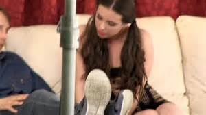 Casey moves in to handle the casting couch on her own. Photo courtesy of Girlfriends Films