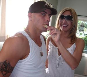 Derrick and Lexxi Tyler. Photo courtesy of Wikimedia Commons