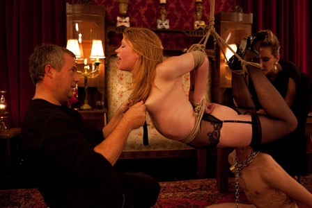 Madison Young performing on The Upper Floor.  Photo courtesy of Kink.com