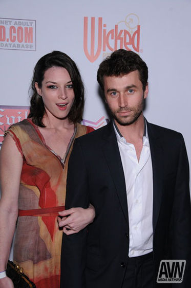 Stoya and James Photo courtesy of AVN