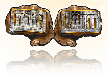 dog fart logo
