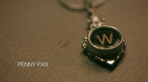 The pendant and its memory Photo courtesy of Penny Pax