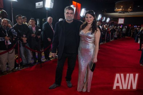 Colin and Madeline at the AVN Awards Show in 2016