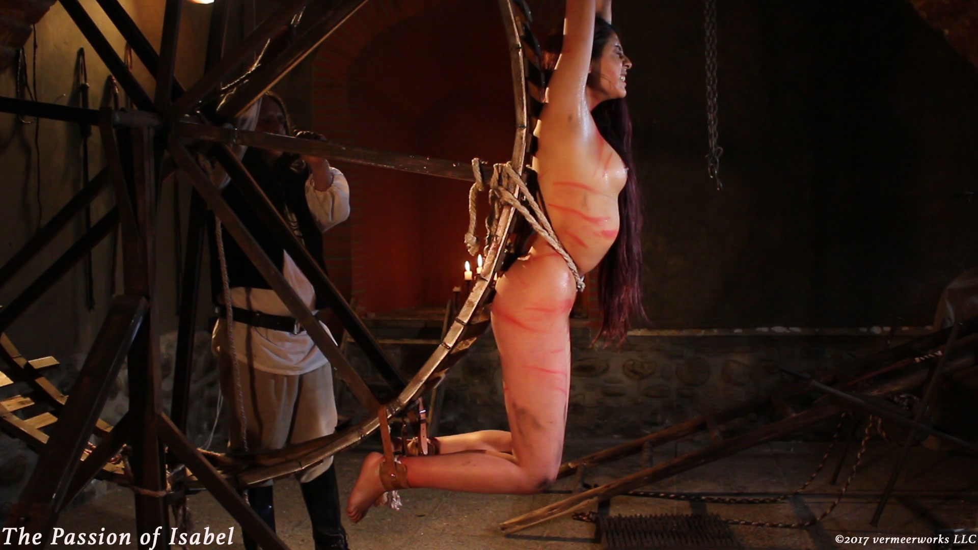 Hump sexy! bdsm female crucifixion